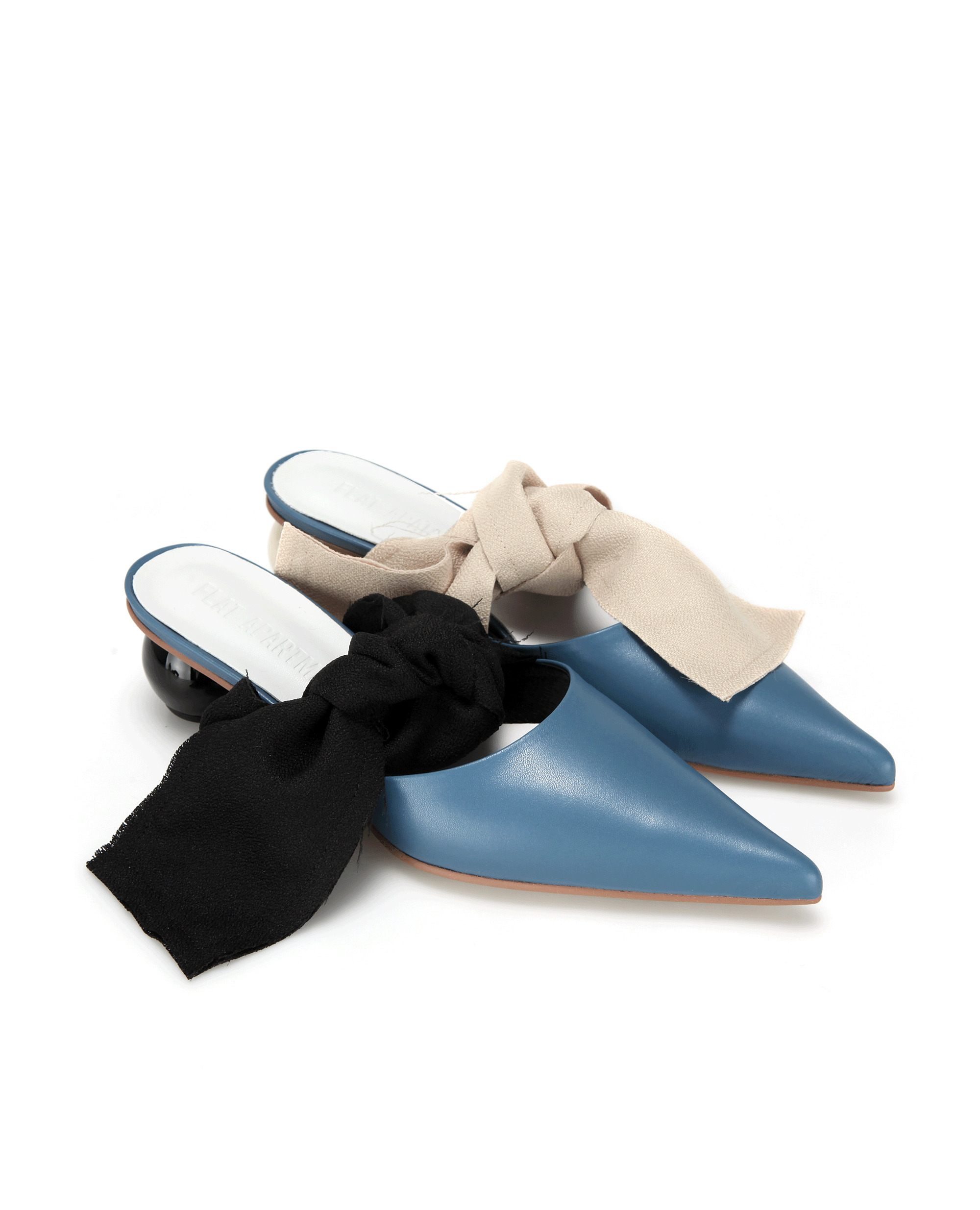 FLATAPARTMENT, SHOES, POINTEDTOE, SHARPTOE, MULES, SANDALS, SLIDES