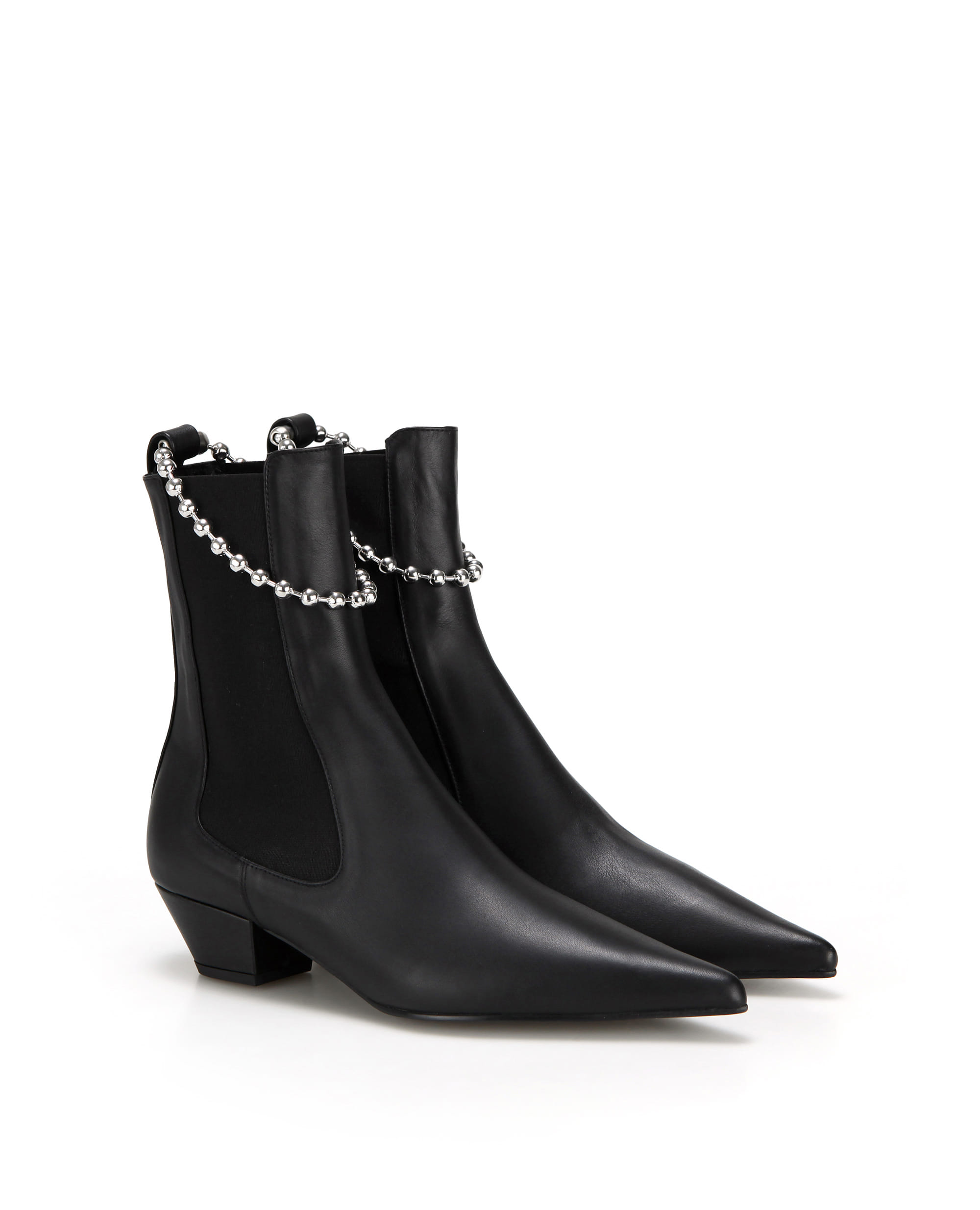 flatapartment, flat apartment, boots, Chelsea boots, chelseaboots, ball chain, shoes, Seoul fashion, k fashion, flat apartment shoes